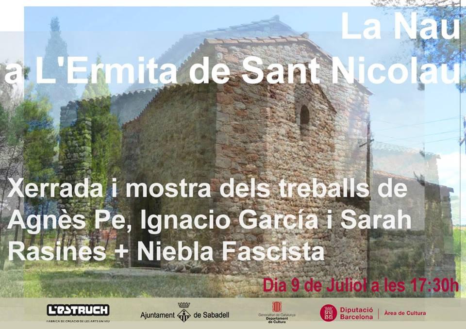 La Nau a l'Ermita de Sant Nicolau.