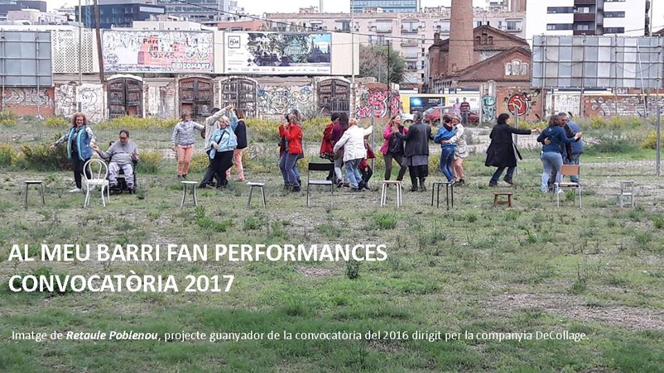 convocatoria Al meu barri fan performance 2017