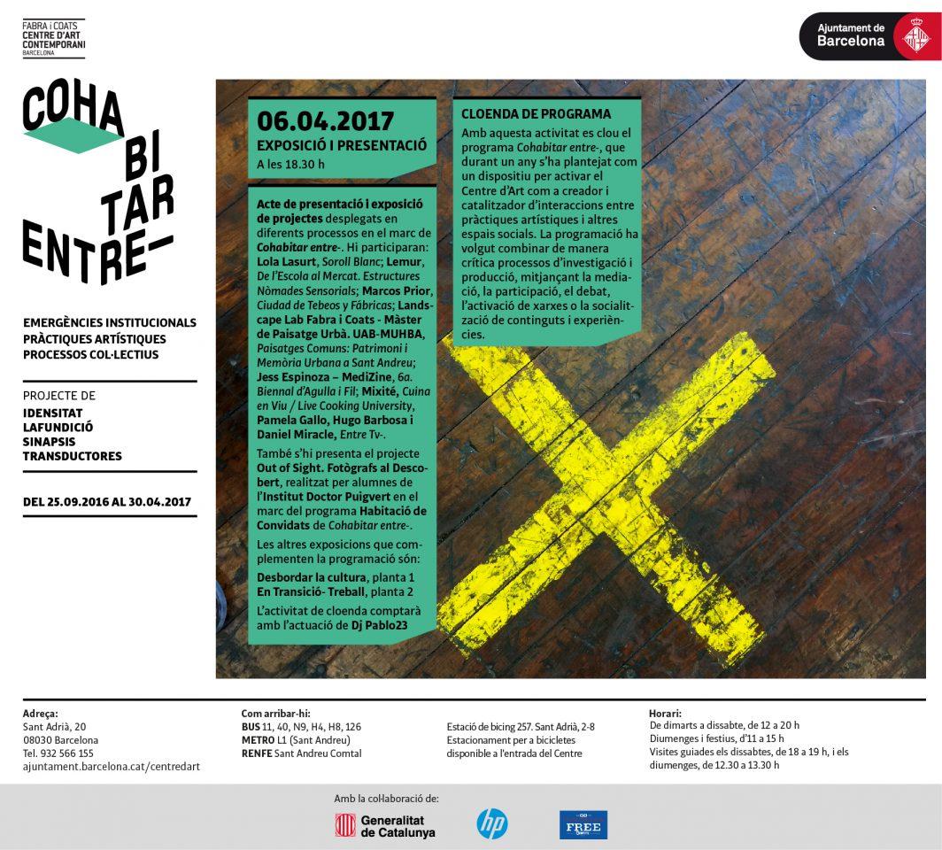 Presentació i exposició de projectes de Cohabitar Entre-