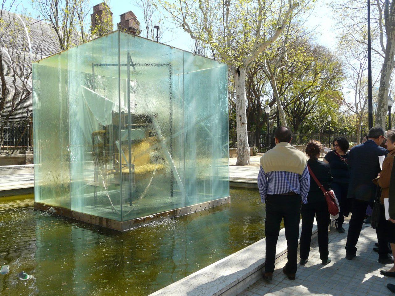 Antoni Tàpies i l'esfera pública. Itinerari