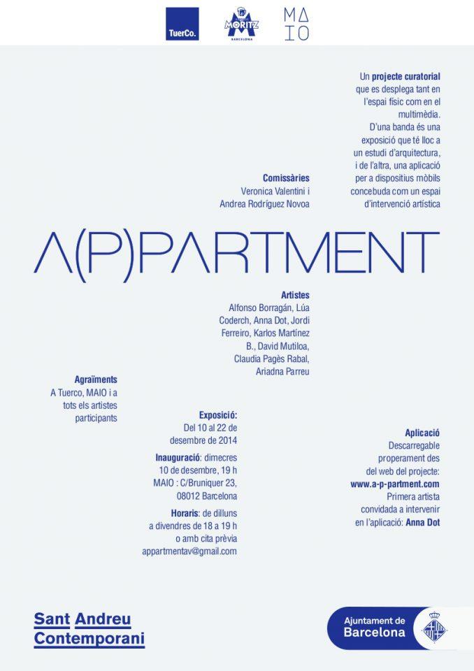 Sant Andreu Contemporani presenta A(p)partment
