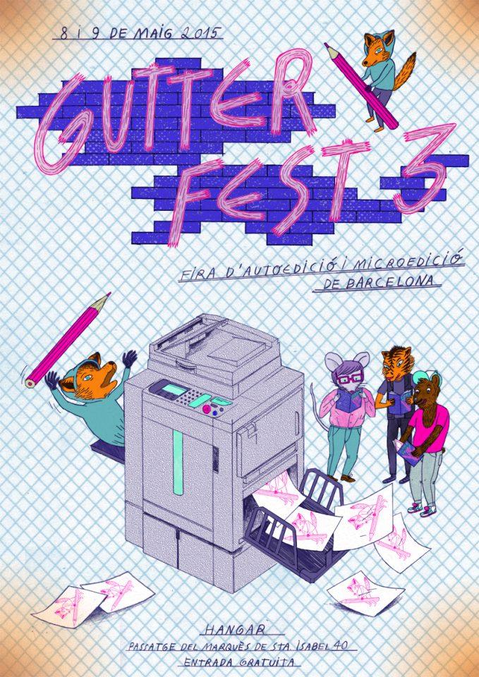 [ Aterratges ] Gutter Fest 3. Fira d'Autoedició i de Microedició de Barcelona