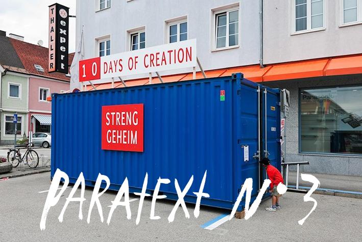 [ Activitats dels residents ] PARATEXT nº3 amb Luis Guerra, Mario Santamaría, Bea Stach i Kaspar Wimberley/Susanne Kudielka