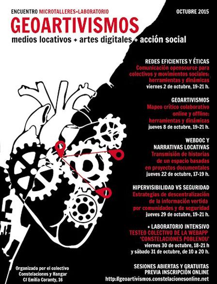 WORKSHOP GEOARTIVISMES medis locatius+arts digitals+acció social