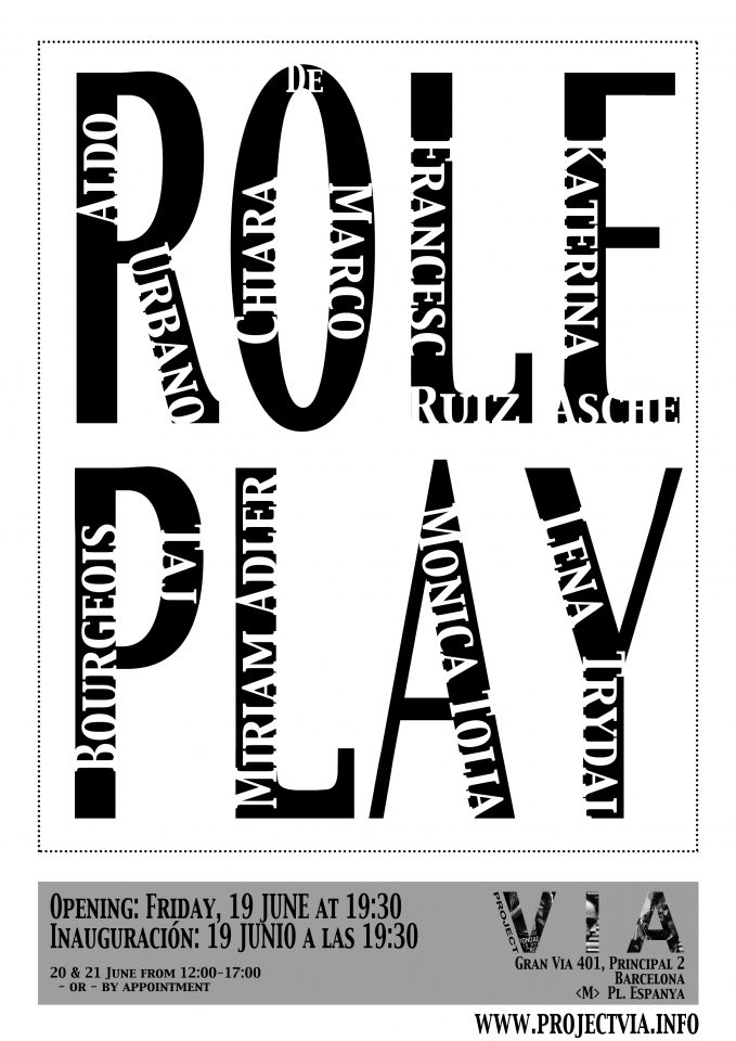 Opening/Inauguración: Role Play