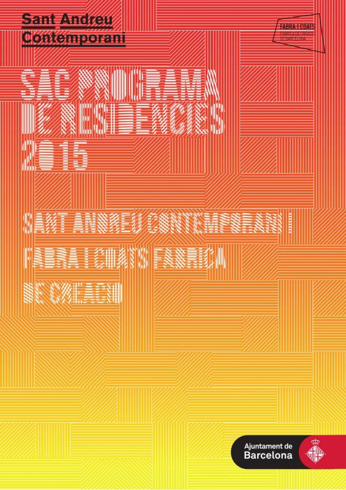 SAC Programa de Residències 2015