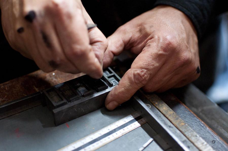 Taller d'introducció a la impressió tipogràfica