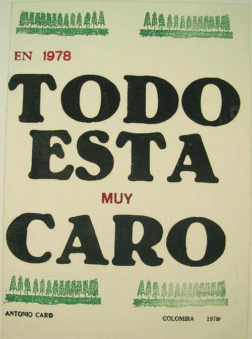 TODO ESTÁ MUY CARO: ANTONIO CARO, CATHERINE DAVID Y MIRIAM ESTRADA