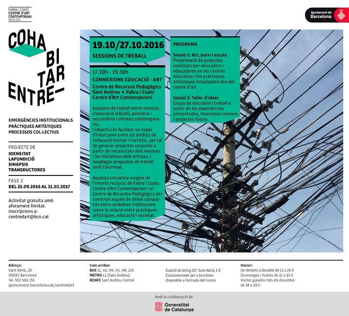 Connexió Educació-Art: Art, barri i escola