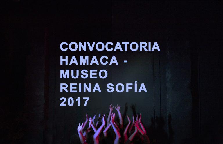 CONVOCATÒRIA HAMACA – REINA SOFIA 2017