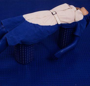 BCN Producció'15 / Visceral Blue / Comissària: Anna Manubens, diversos artistes
