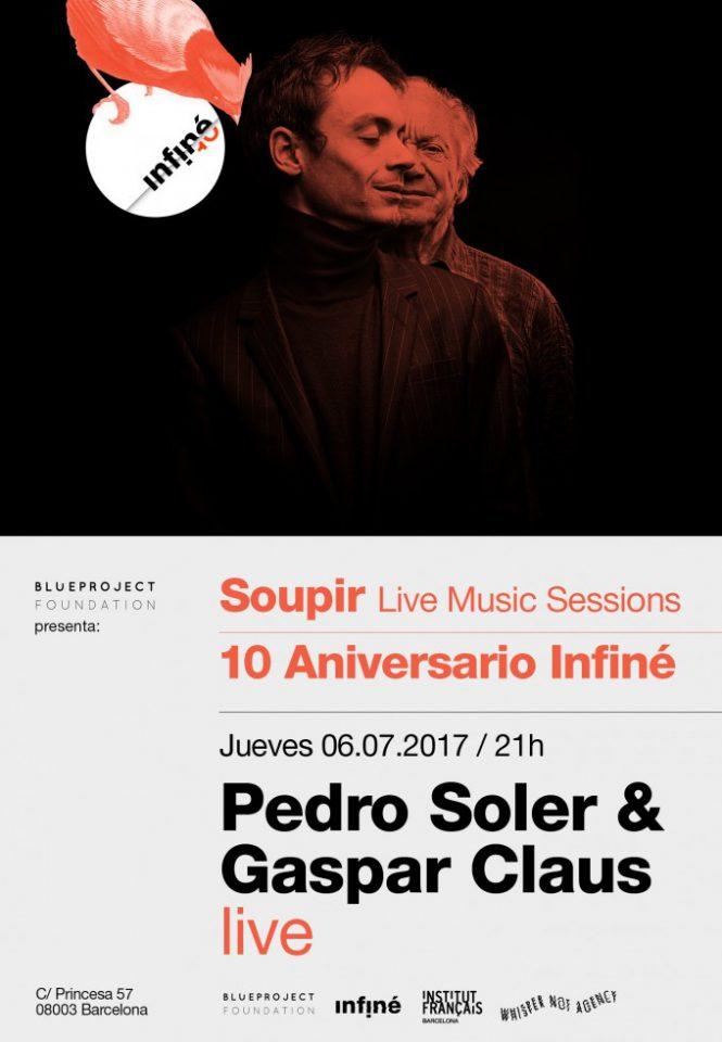 Cicle de concerts SOUPIR: Gaspar Claus i Pedro Soler en viu