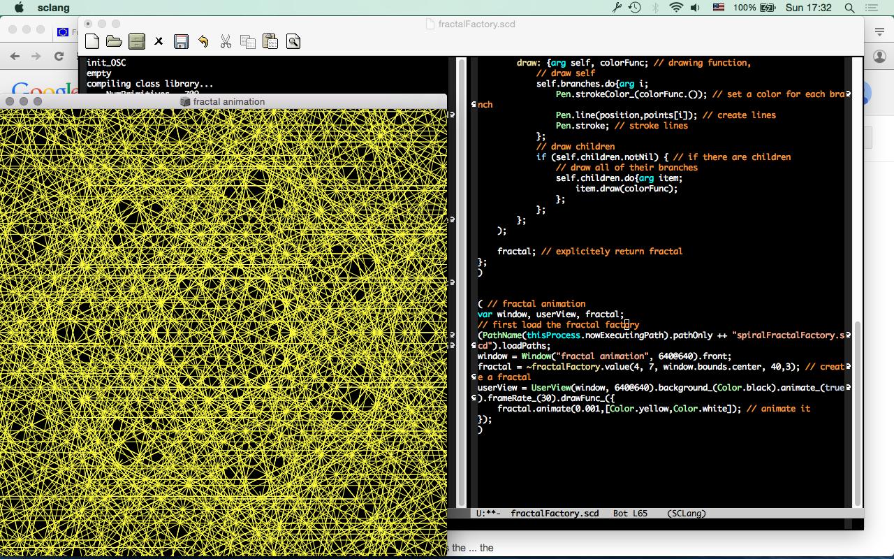 """Workshop """"Mapping the Vortex: mapping y visualización con SuperCollider"""""""