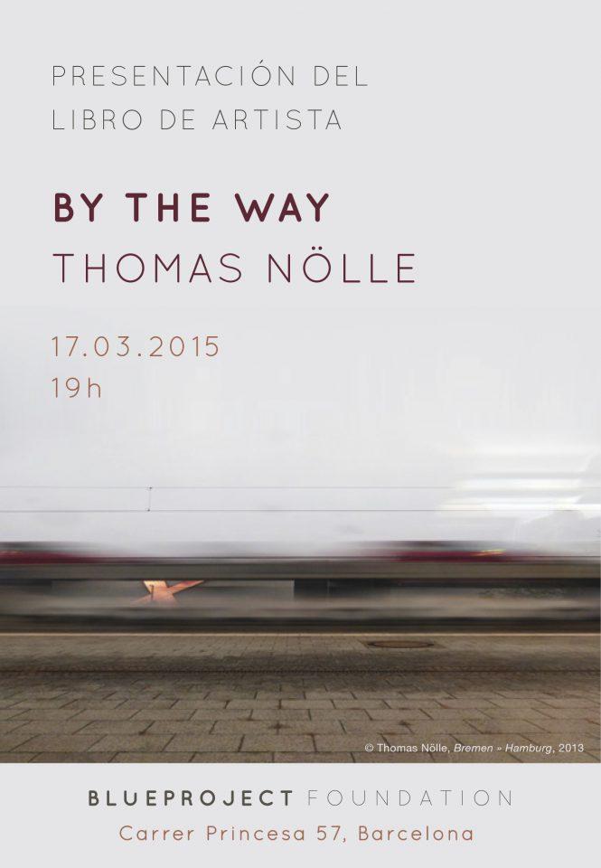 """Presentació del llibre d'artista """"By the Way"""" de Thomas Nolle."""