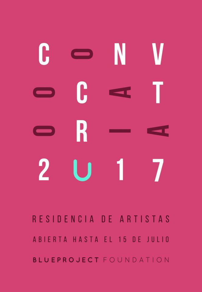 CONVOCATÒRIA OBERTA D'ARTISTES 2017 fins 15 juliol