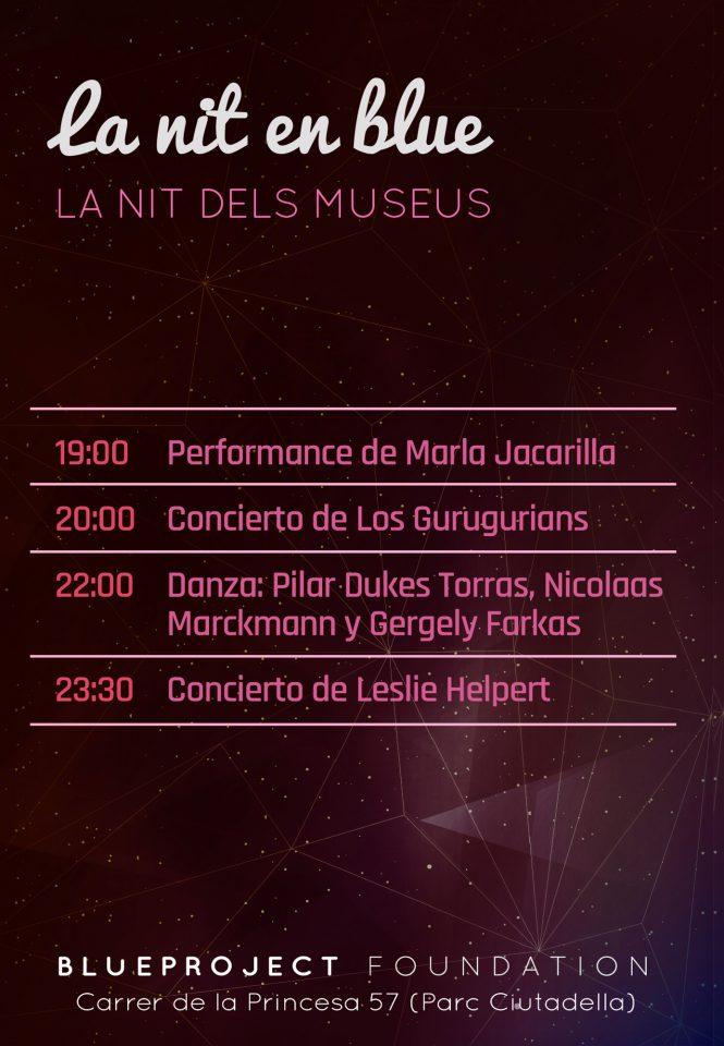 (CAST) La Nit dels Museus: La nit en Blue