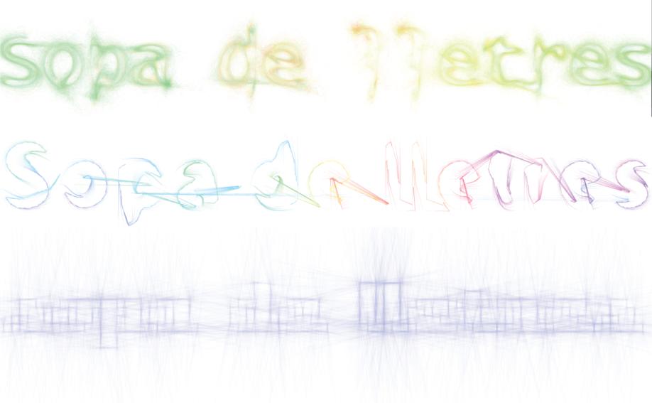 [Dijous Oberts] Sopa de lletres: usant tipografies amb Processing