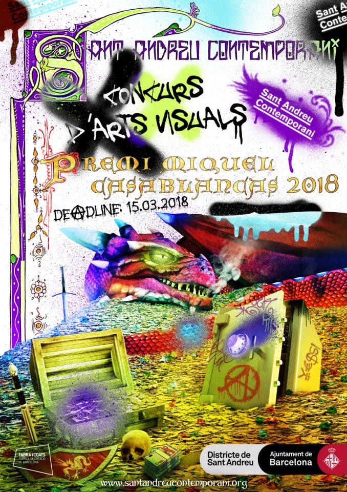 Convocatòria Concurs d'Arts Visuals Premi Miquel Casablancas 2018