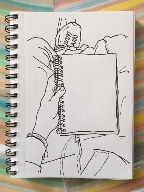 Taller de dibuix rapid amb Vinicius Cora