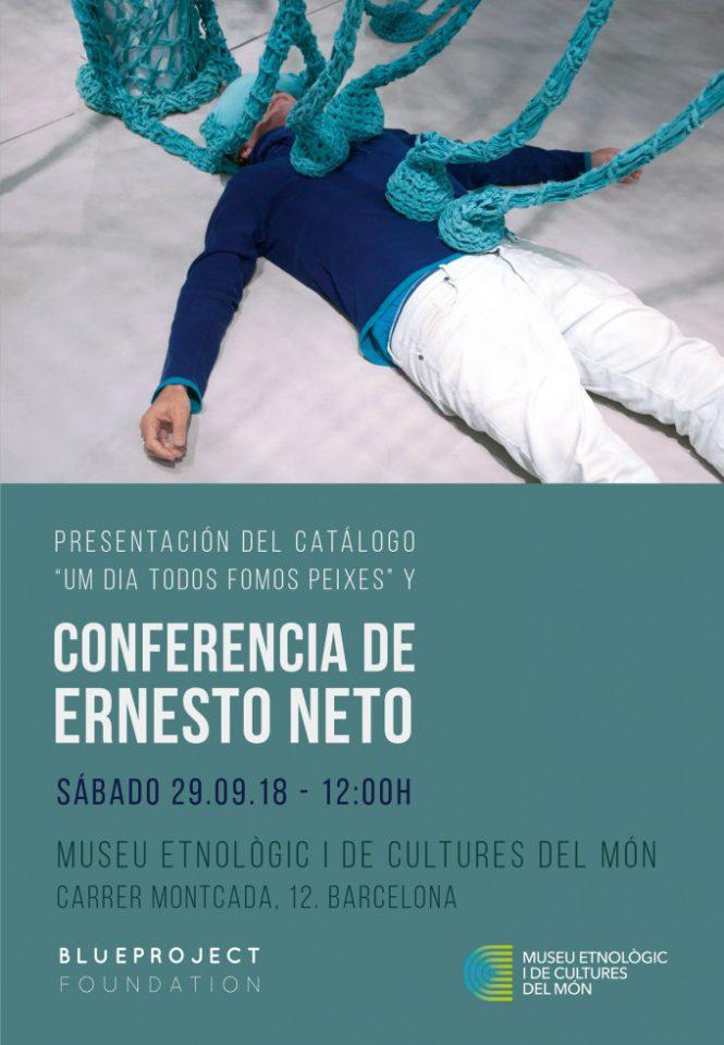 Conferència d'Ernesto Neto