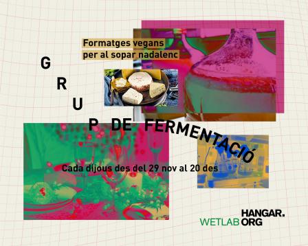 Grup de fermentació: preparem formatges vegans per als sopars nadalencs