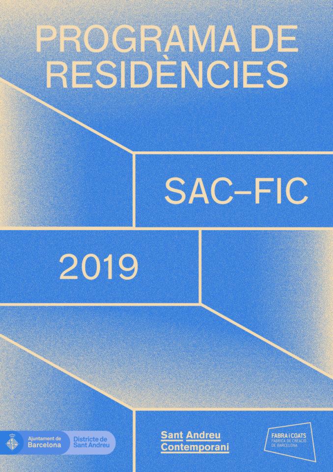 Convocatòria SAC-FiC Programa de Residències 2019