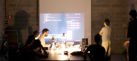Sessions de Live Coding amb TOPLAP