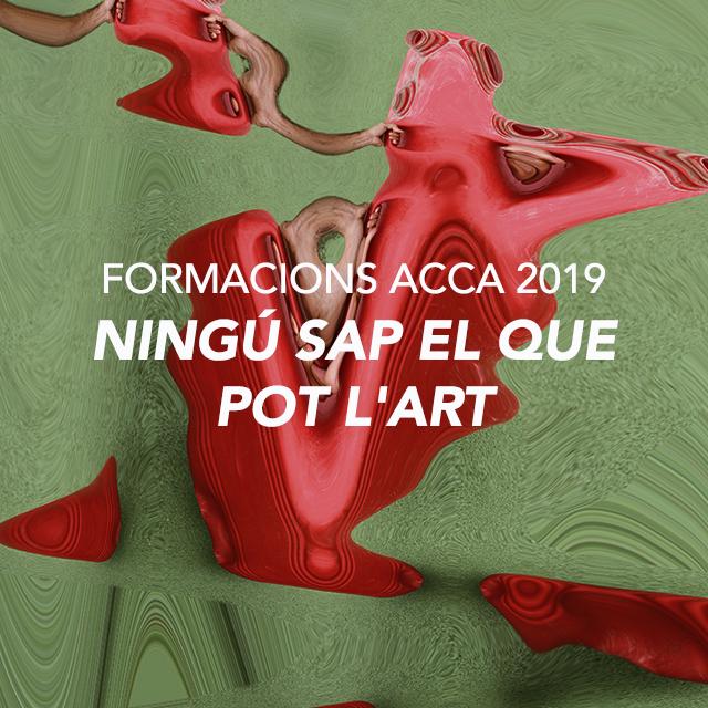 NINGÚ SAP EL QUE POT L'ART – INTERROMPENT EN LA MATRIU