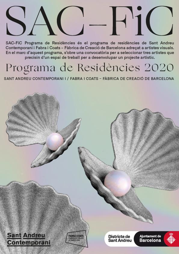 Convocatòria SAC-FiC Programa de Residències 2020