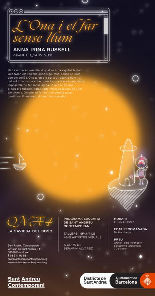 Taller infantil: L'Ona i el far sense llum