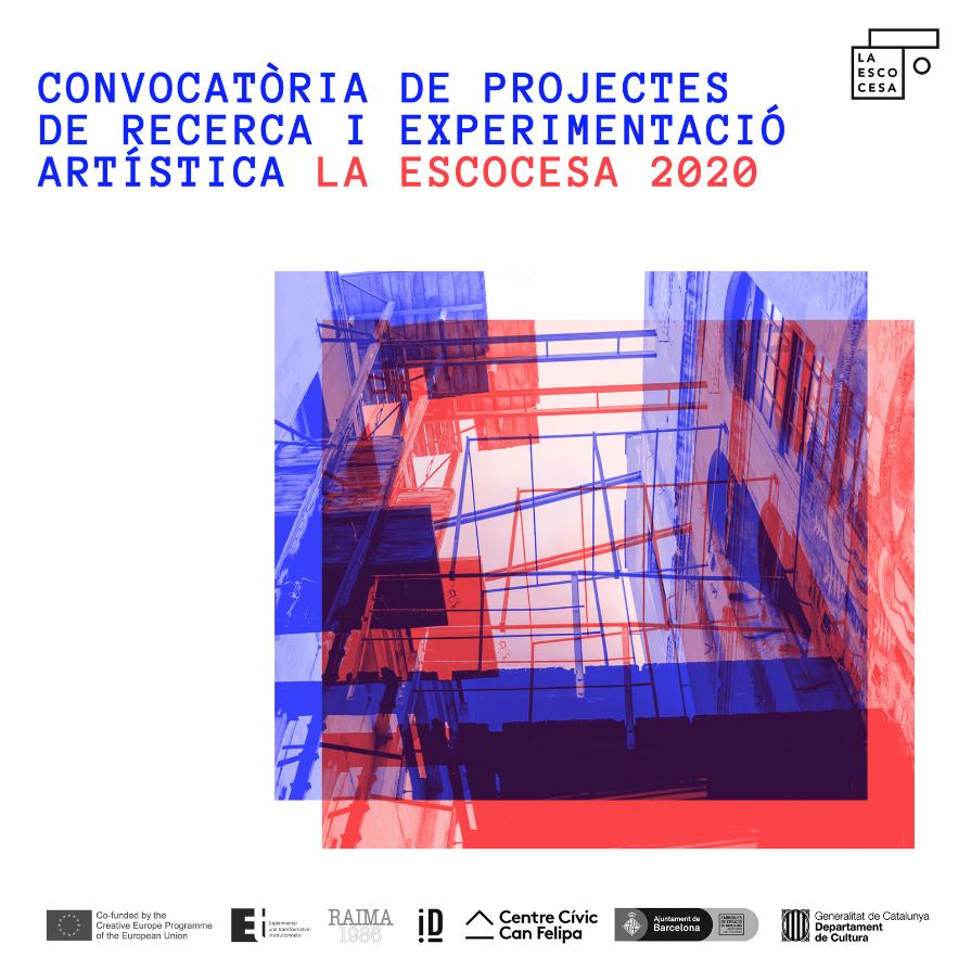 Convocatòria de projectes de recerca i experimentació artística La Escocesa 2020