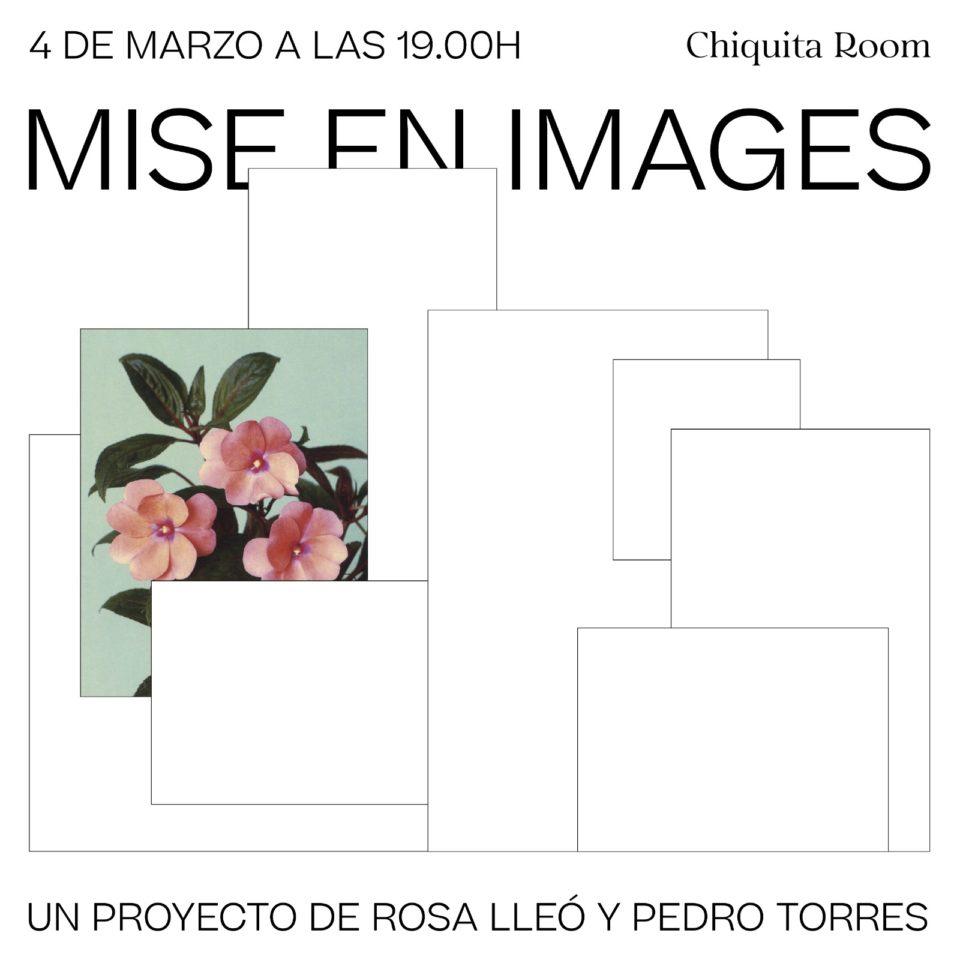 Inauguració de Mise en images (Un projecte de Rosa Lleó i Pedro Torres)