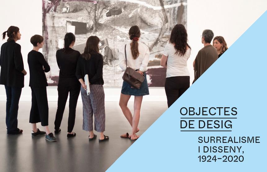 VISITA COMENTADA: OBJECTES DE DESIG. SURREALISME I DISSENY, 1924-2020