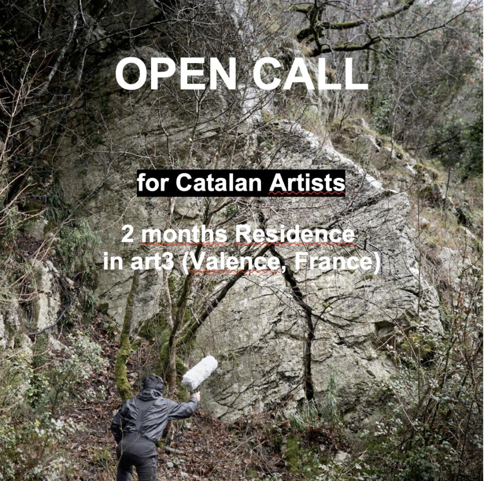 Convocatòria de Residéncia a Art3/ artistes catalans