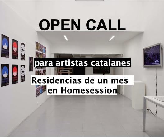 Residència artística a Homesession, per a artistes locals