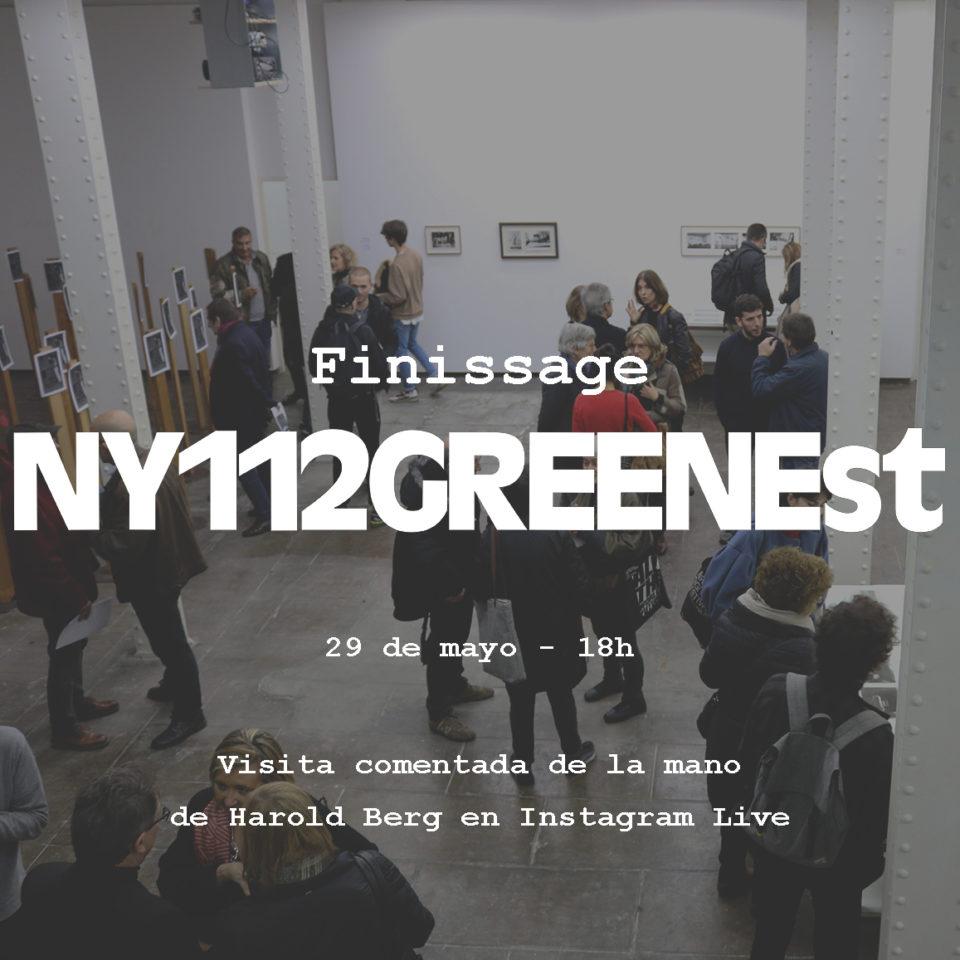 Clausura de l'exposició NY112GREENEst.