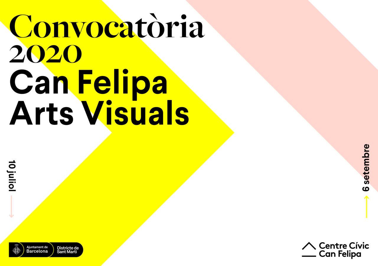 CONVOCATÒRIA ARTS VISUALS CAN FELIPA 2020
