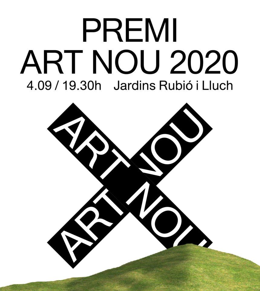 Acte de lliurament del Premi Art Nou 2020 – inscripció prèvia