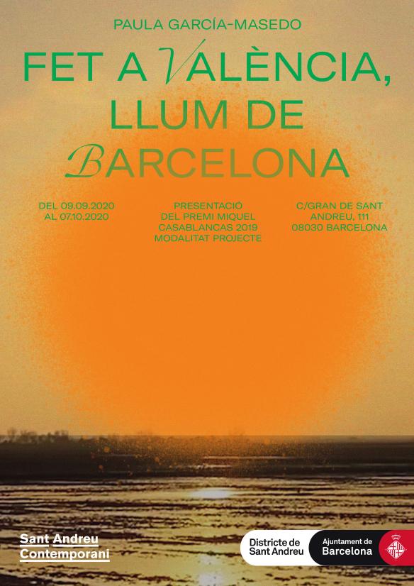 Fet a València, llum de Barcelona