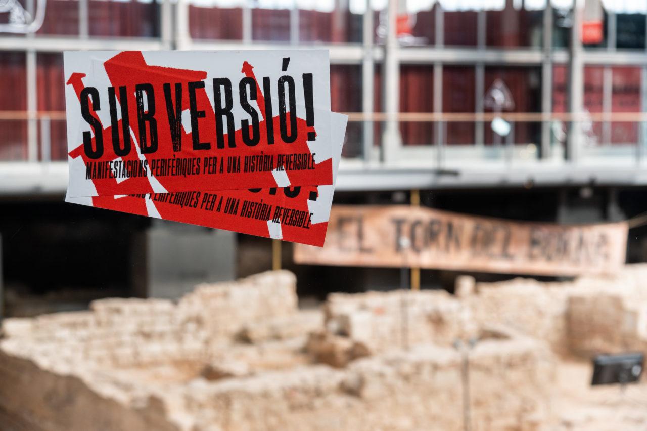 SUBVERSIÓ! Manifestacions perifèriques per a una història reversible