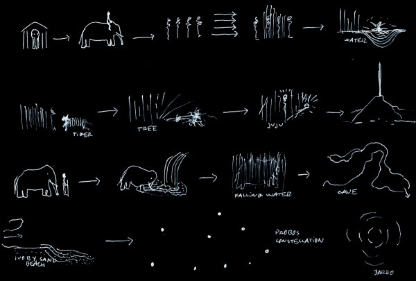 Carlos Casas // Notes on a film about elephants