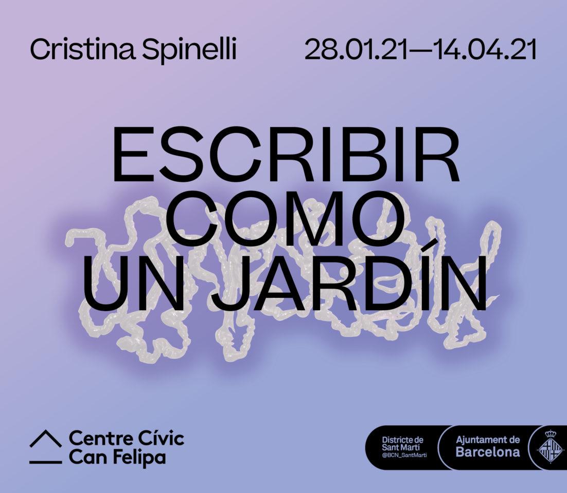 Escribir como un Jardín > Cristina Spinelli