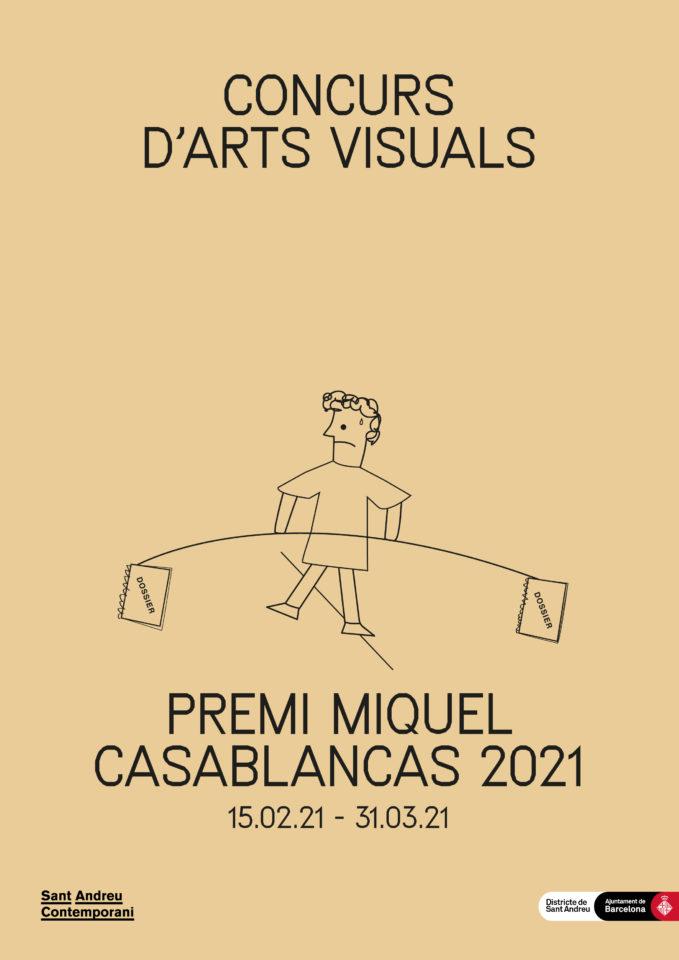Convocatòria Concurs d'Arts Visuals Premi Miquel Casablancas 2021