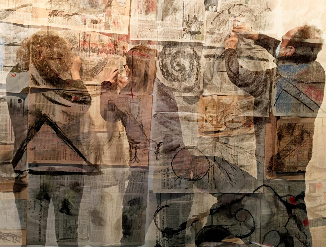 Workshop Esborrar és dibuixar, a la manera de William Kentridge