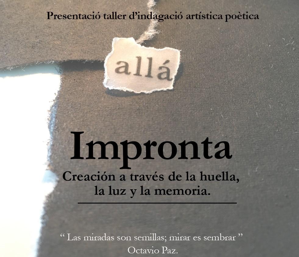 """Taller """"Impronta"""""""