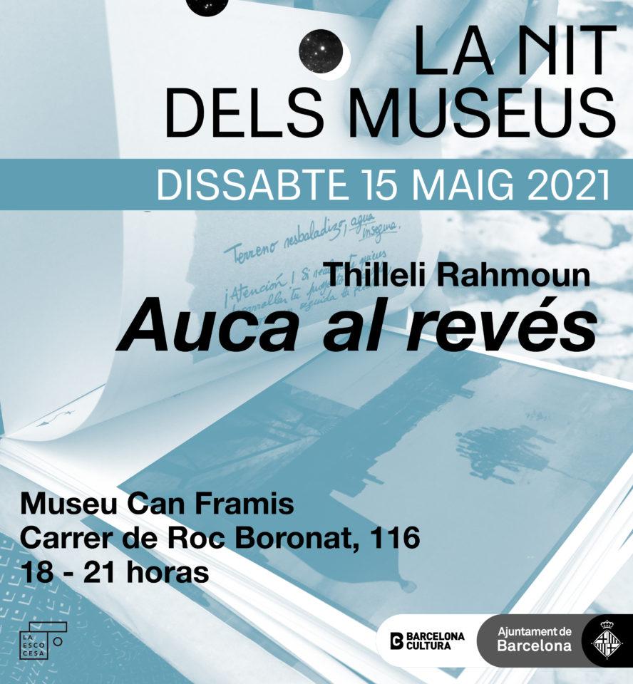 La Nit dels Museus al Museu Can Framis. Auca al revés.
