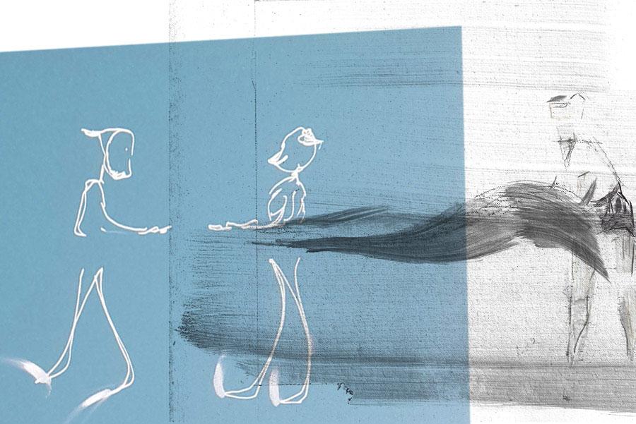 Visita comentada per Lola Lasurt a l'exposició 'Desde hace tiempo que nuestras comunicaciones no vienen de un lugar reconocible'