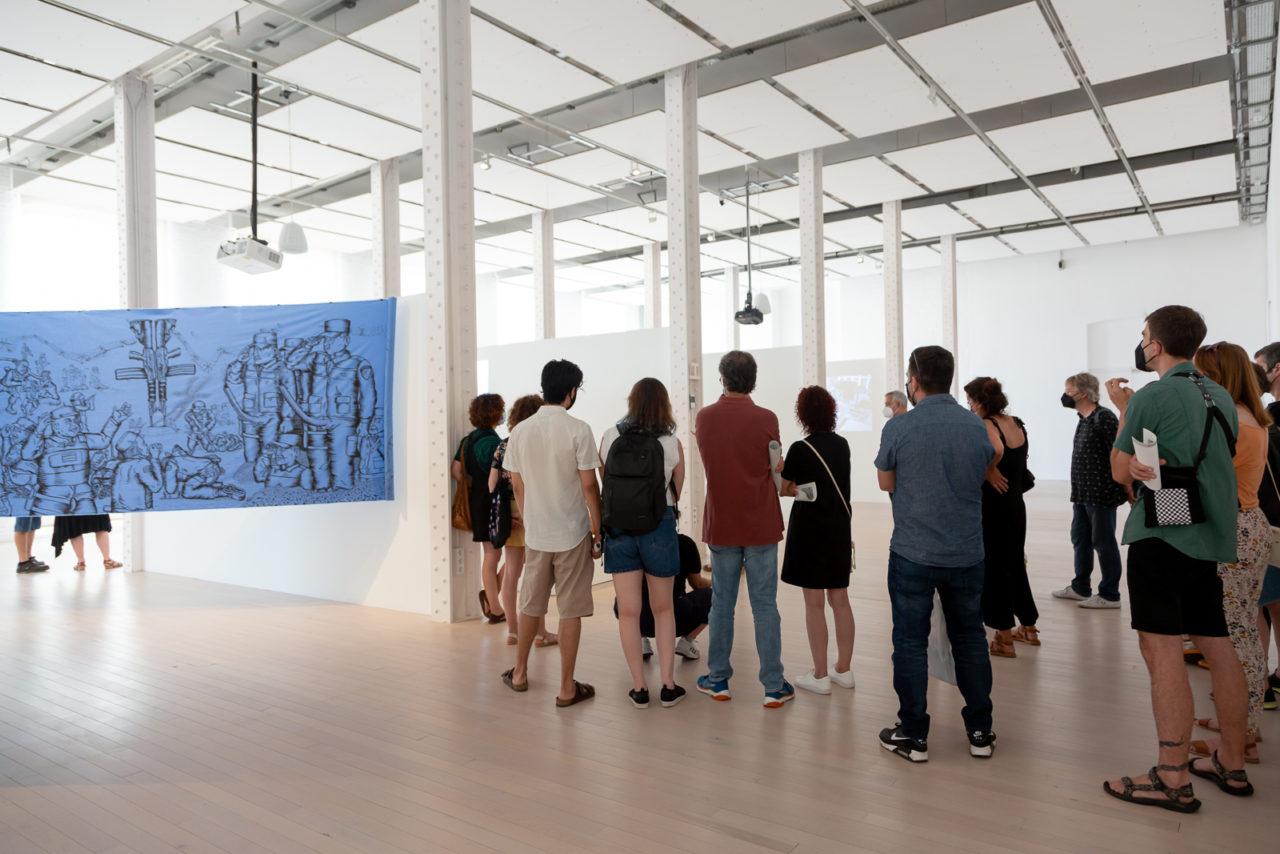 Visita guiada a les exposicions